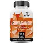 EBYSU Ashwagandha – 1300mg Max Strength 180 Capsules – Supplement Supports Stress Relief & Anti Anxiety Control