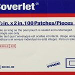 BSN Jobst Coverlet Adhesive Patch Bandage 1-1/2″ x 2″, Latex-free (100 pcs. per box)