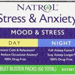 Natrol Stress and Anxiety – Day and Night Tablets, 60 Count