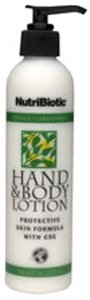 Nutribiotic Hand and Body Lotion, Citrus, 8 Fluid Ounce