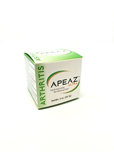 Apeaz ULTRA | Fast and Long lasting Arthritis Pain Relieving Cream - 2oz tub