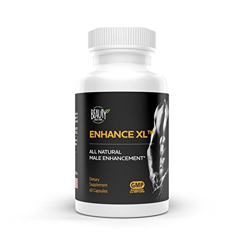 ENHANCE XL | Improved sex life | Increased stamina | Horny goat weed | Longer harder erection| Male enhancer | Penis enhancement | Testosterone booster | Made in USA