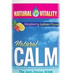 Natural Vitality Natural Calm Magnesium Anti Stress, Organic, Raspberry Lemon, 4oz