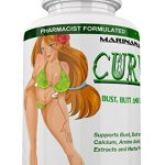CURVIMORE The Only Breast Enlargement, Butt Enlargement and Lip Plumping 3 in 1 Formula – Natural Bust and Butt Enhancement Pills – Enjoy Larger, Fuller, Firmer Breasts, Butts and Lips.