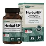 Herbal-BP Natural Blood Pressure Support with Stress Management – Medical Grade Botanical Extracts – Safe, Long-Term Support