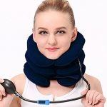 Swthome Health Cervical Neck Traction Device – Instant Pain Relief for Chronic Neck and Shoulder Pain – Effective Alternate Pain Relieving Remedy,Blue