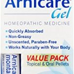 Boiron Arnicare Gel Value Pack, 2.6 Ounce + 80 Pellet Tube, Homeopathic Medicine for Pain Relief