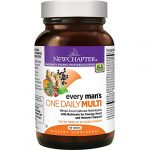 New Chapter Every Man's One Daily, Men's Multivitamin Fermented with Probiotics + Selenium + B Vitamins + Vitamin D3 + Organic Non-GMO Ingredients – 48 ct