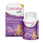 Conceive Plus Women's Fertility Support, 60 caps 30 day supply