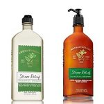 Bath & Body Works, Aromatherapy Stress Relief Body Lotion and Body Wash & Foam Bath, Eucalyptus Spearmint – New 2018 Packaging  (Bundle of 2)