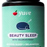Yuve Natural Sleep Aid Supplement – Non-Habit Forming Vegan Sleeping Pills – Herbal Complex with Valerian Root, Magnesium, Passion Flower – Relax & Calm – Non-GMO, Gluten-Free – 100 Vegetarian Tablets