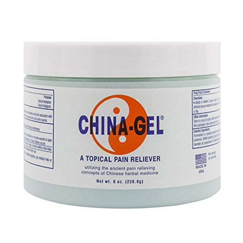 China-Gel -- Topical Pain Reliever, 8 oz.