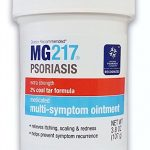 MG217 Psoriasis Treatment, Medicated Conditioning 2% Coal Tar Multi-Symptom Ointment, 3.8 Ounce
