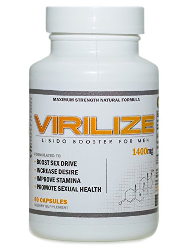 Virilize | Mens Enlarging Supplement | Male Enhancing Pills to Increase Size
