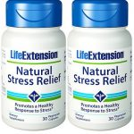 Life Extension Natural Stress Relief, 30 vegetarian caps (Pack of 2)