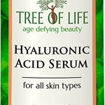 ToLB Hyaluronic Acid Serum for Skin – 100% Pure Hyaluronic Acid with Vitamin C + Natural Ingredients for Enhanced Moisturization – Paraben Free, Vegan – Best Hyaluronic Acid for Facial Care 1 fl oz