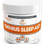 GENIUS SLEEP AID – Smart Sleeping Pills & Adrenal Fatigue Supplement, Natural Stress, Anxiety & Insomnia Relief – Relaxation Enhancer and Mood Support w/ Inositol, L-Theanine & Glycine – 40 capsules
