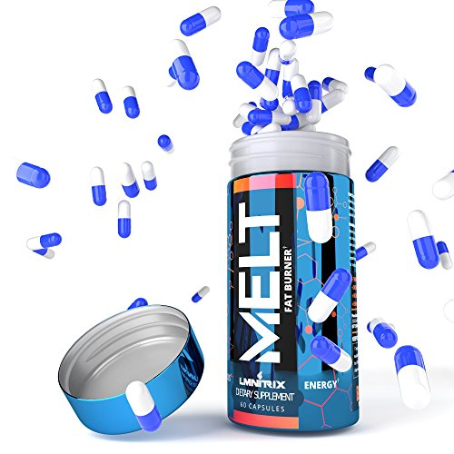 MELT - Best Thermogenic Fat Burner For Men & Women - Appetite Suppressant Pills for Fast Weight Loss - Real Results Guaranteed - 60 caps
