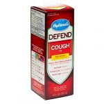 Hyland's Defend Cough Syrup, Natural Non-Drowsy Relief of Dry, Tickling, and Moist Coughs, 4 Ounces