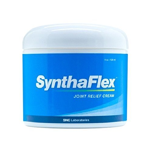SynthaFlex   4 Oz. - Best Anti-Inflammatory Cream - Joint Pain and Inflammation Cream - Arthritis, Carpal Tunnel, Tennis Elbow, Tendonitis, Neuropathy and Other Inflammation Pains