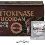Umeken Nattokinase Plus Fucoidan- 2300FU Natto, 87mg of Fucoidan, Good for Blood Circulation, Cardiovascular Health. Packets, Ball Form. 1 month supply. Made in Japan.