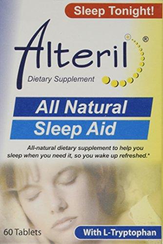Alteril - Sleep Aid All Natural - 60 Tablets