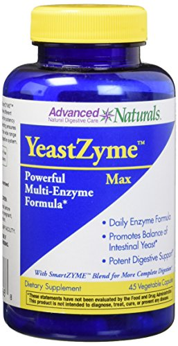 Advanced Naturals Yeastzyme Max Caps, 45 Count