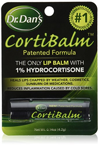 Dr. Dans Cortibalm Lip Balm, 2 Count