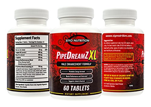 Male Enhancement Pills Natural - Testosterone Booster, Male Libido, Thicker Enlargement Formula, Best Sexual Control, For Huge Man, Male Enhancing Pill, Enhancing Pills, Zappa Nutrition PipeDreamZ XL