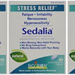 Boiron Sedalia, 60 Tablets (Pack of 3), Homeopathic Medicine for Stress Relief
