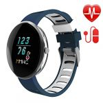 LETSCOM Fitness Tracker Watch with Heart Rate Watch and Blood Pressure Monitor, Step Counter Watch, Pedometer, IP67 Waterproof,Sleep Monitor, Smart Watch for Women Men Kids