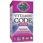Garden of Life Multivitamin for Women – Vitamin Code Women's Raw Whole Food Vitamin Supplement with Probiotics, Vegetarian, 120 Capsules
