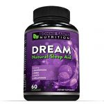 DREAM- Natural Sleep Aid – Includes Magnesium – GABA – 5-HTP – Melatonin, Supports Relaxation, Deep Sleep, and Refreshed Mornings, For Men and Women, All Natural Sleeping Pills, 60 Capsules