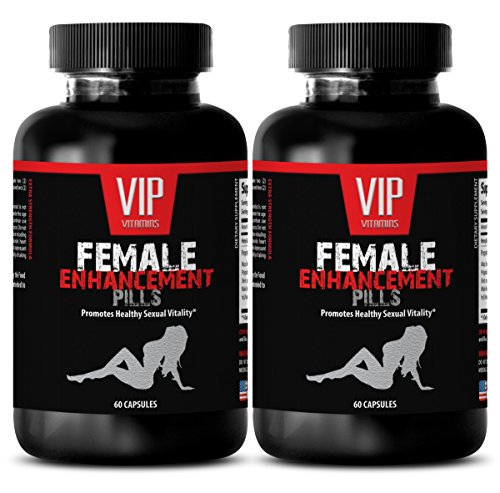 Horny Goat Weed Extract with Maca Root Libido Enhancer - FEMALE ENHANCEMENT PILLS - Sexual enhancement for woman (2 Bottles 120 Capsules)