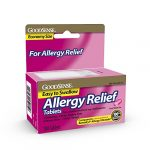 GoodSense Allergy Relief, Diphenhydramine HCL Antihistamine, 25 mg, 100 Count