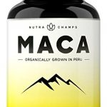 Organic Maca Root Powder Capsules – 1000mg Peru Grown – Energy, Fertility & Sex Health Supplement for Men & Women – Vegan Pills – Gelatinized + Black Pepper Extract for Superior Results