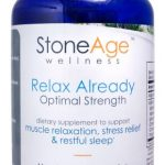 Relax Already – Natural Muscle Relaxer – Natural Stress Aid – 240 Capsules
