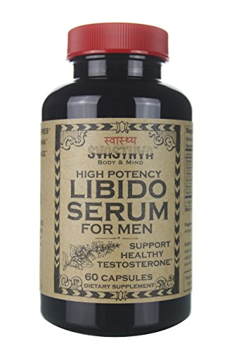 High Potency Libido Serum for Men, All Natural Sexual Enhancement, Improve Performance, Boost Energy, Support Testosterone Levels