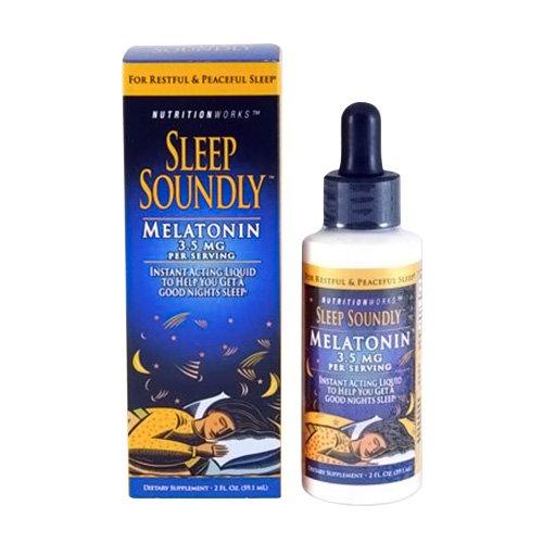 Sleep Soundly Melatonin, 2-Ounce Bottles (Pack of 3)