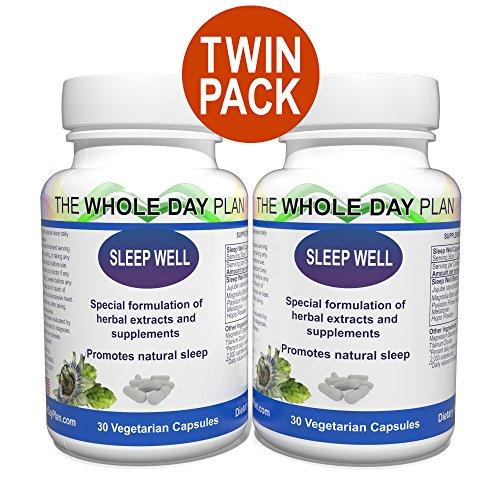 Sleep Well - Sleeping Pills for Insomnia - Sleeping Aid for Women and Men - fall Asleep & Stay Asleep all Night Long - Sleep Aid Capsules - made in United States