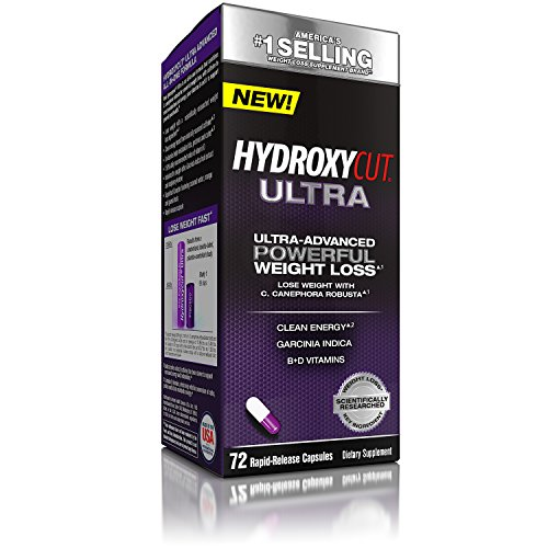 Hydroxycut Ultra Weight Loss, America's Number 1 Selling Weight Loss Brand, Weight Loss Supplement, Diet Pill, 72 Count