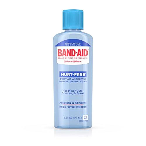Band-Aid Brand First Aid Hurt-Free Antiseptic Wash Treatment, 6 Fl. Oz
