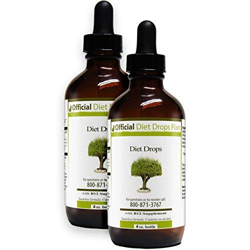 Official Diet Drops - Couples (2x 4 ounce bottles)