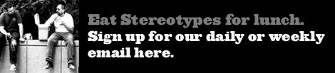 Stereotypes for lunch Email Sign up