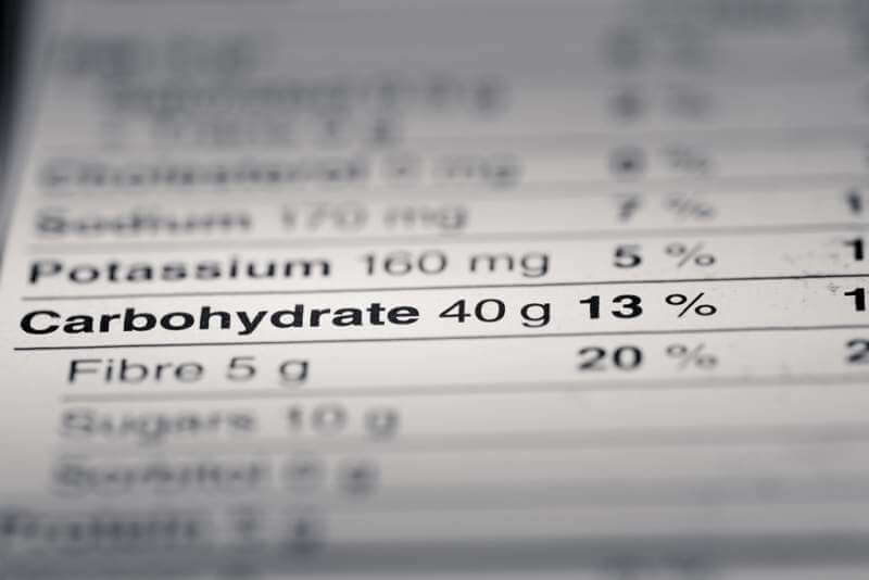shallow-depth-of-field-image-of-nutrition-facts