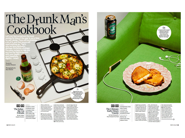 Men's Health Drunk man's cookbook