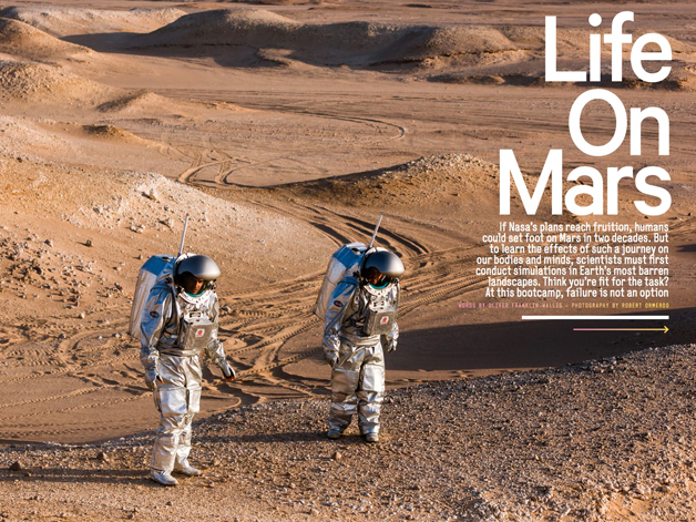 Men's Health December Life On Mars