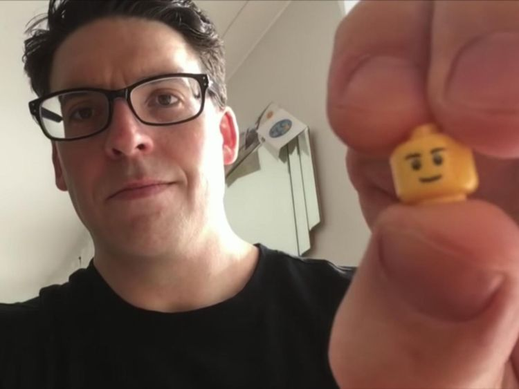 The doctors filmed themselves swallowing LEGO heads