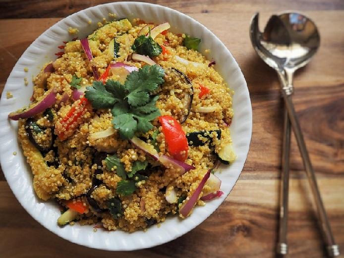 quinoa in rice cooker