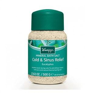 Kneipp Mineral Bath Salt Cold & Sinus Relief